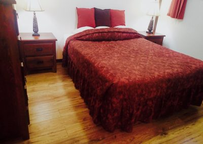 Queen Red Bed